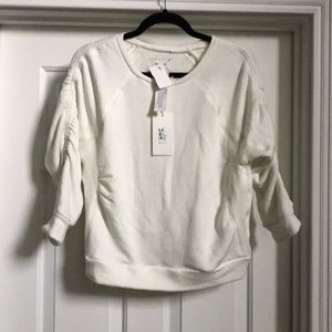 NWT McGuire off white sweater